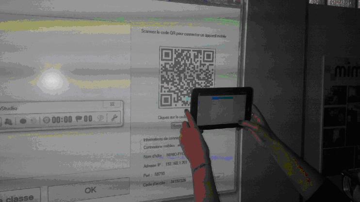 Connexion tablettes et smartphones