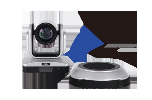 connexion de la caméra de vidéoconférence Aver vc520+