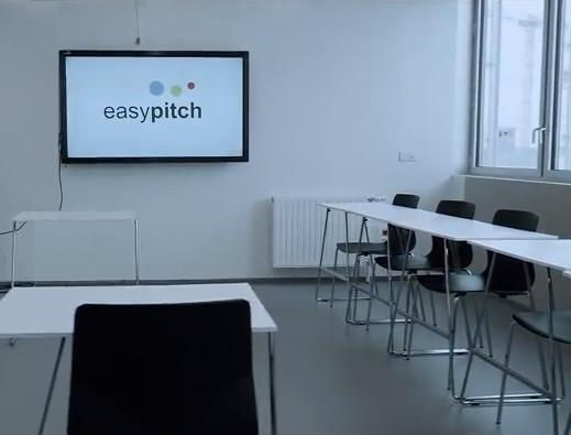 Ecran interactif easypitch à la centralesupelec