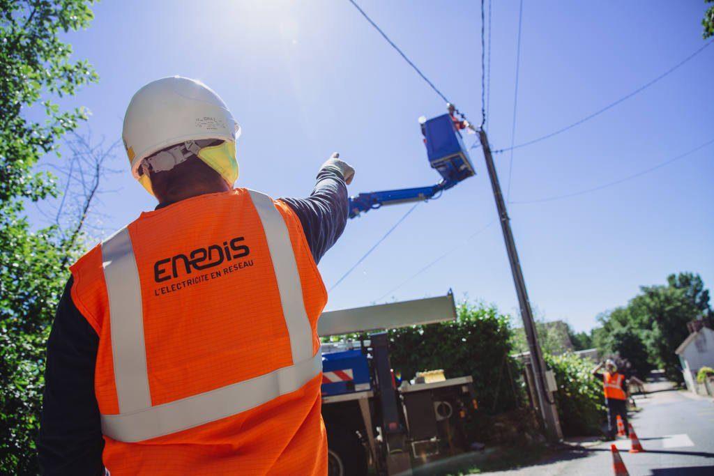 enedis distributeur d'electricite