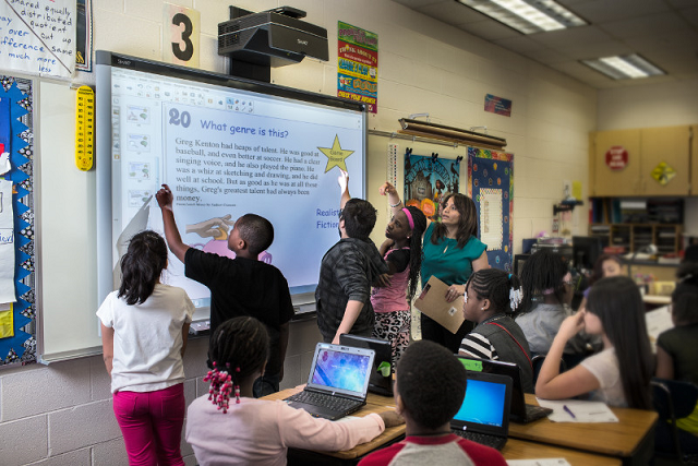 tbi smartboard en salle de classe