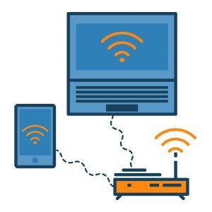 connexion d'appareils sans fil en byod