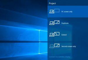 partage d'ecran d'ordinateur avec miracast