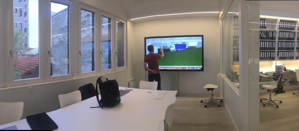 utilisation d'autocad sur ecran interactif