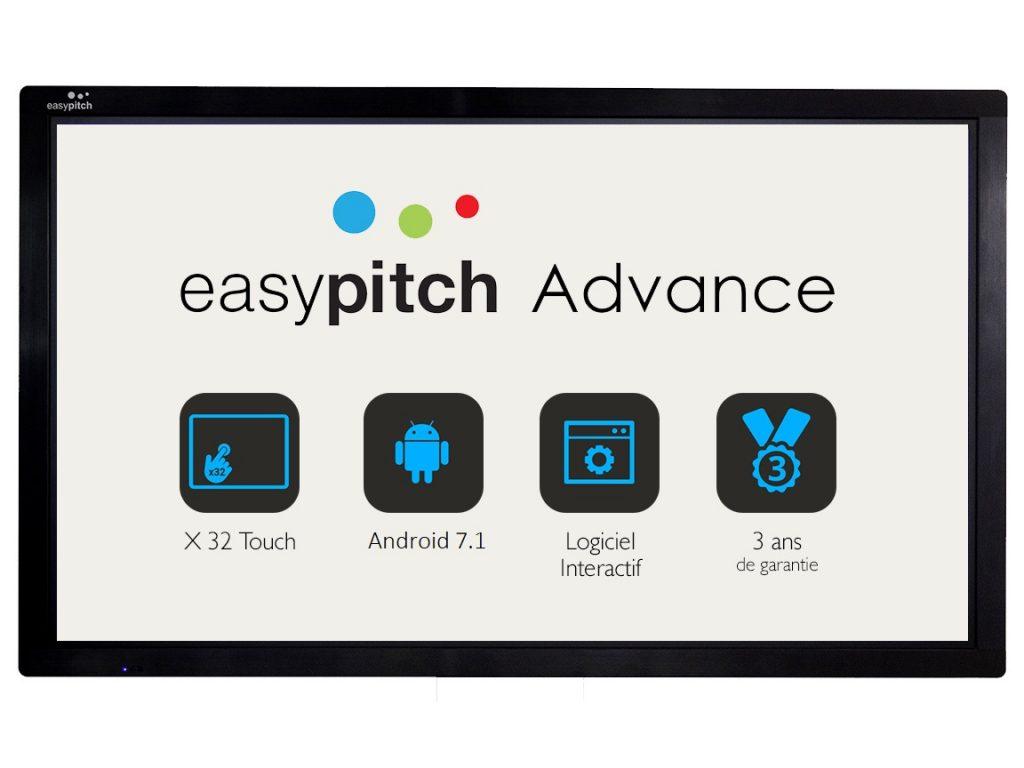 ecran interactif android easypitch