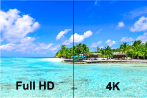 difference entre resolution uhd et 4k