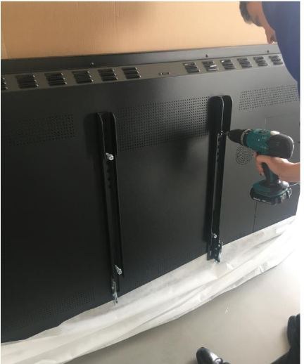 installation barres