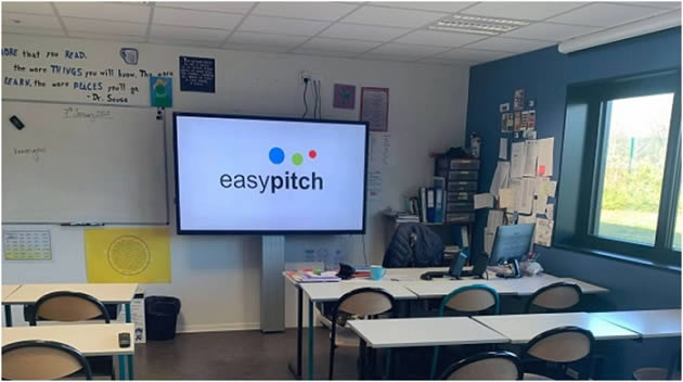 Ecran interactif easypitch en enseignement