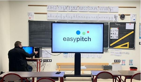 connecter-ordinateur bureau ecran interactif