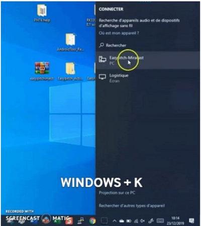 windows +k