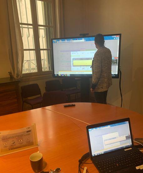 formation écran interactif