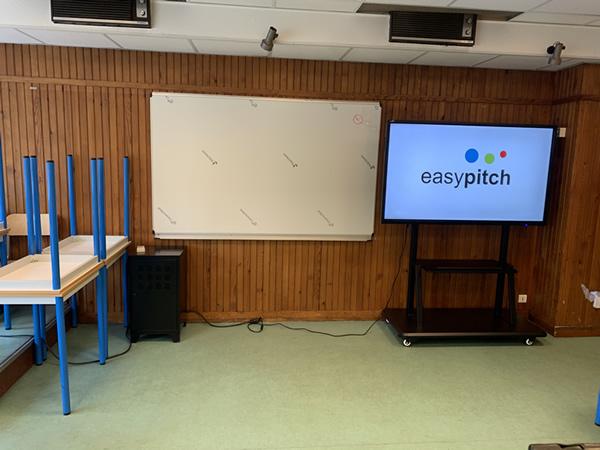 écran Easypitch