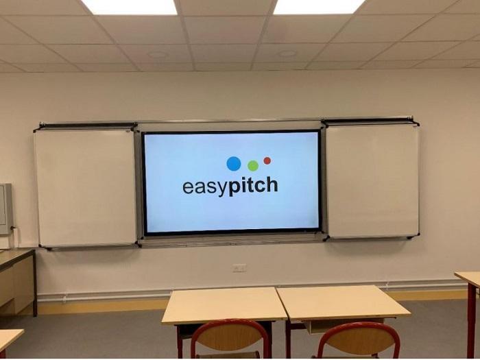 installation tableau flash avec écran interactif